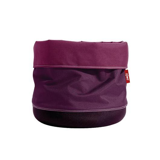 Maceta Textil Soft Bag 25cm Aubergine