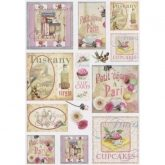 Papel arroz decoupage kitchen