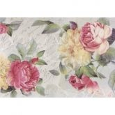 Papel arroz decoupage rosa romantiche