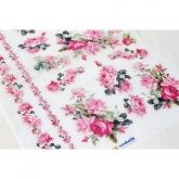 Papel arroz decoupage rose & roses