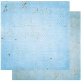Papel scrapbooking vintage powder blue Bobunny