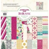 Set papel scrapbooking Candy cane lane 30 x 30 cm Bobunny