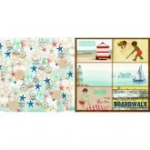 Papel boardwalk beach bliss Bobunny