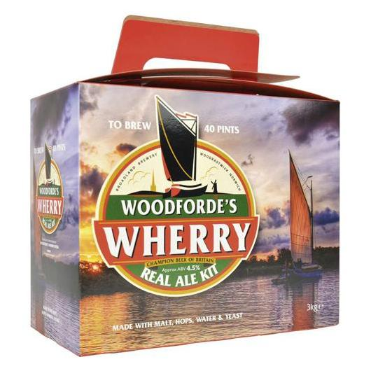 Kit de ingredientes Wherry Best Bitter - Woodfordes