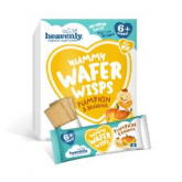 Yummy wafer wisps calabaza y plátano Heavenly, 6 x 14 g
