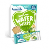 Yummy wafer wisps espinacas, manzana y col Heavenly, 6 x 14 g