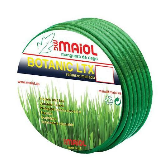 Tubo Latex Botanico 15mm 25m