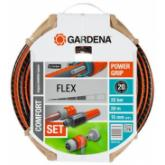 Set Manguera Flex Gardena 15mm 20m