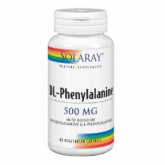 DL-phenylalanine 500 mg Solaray, 60 caps
