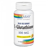 L-glutation 100 mg Solaray, 30 caps