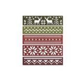 Set 5 troqueles Snowfall & holiday knit Thinlits Sizzix