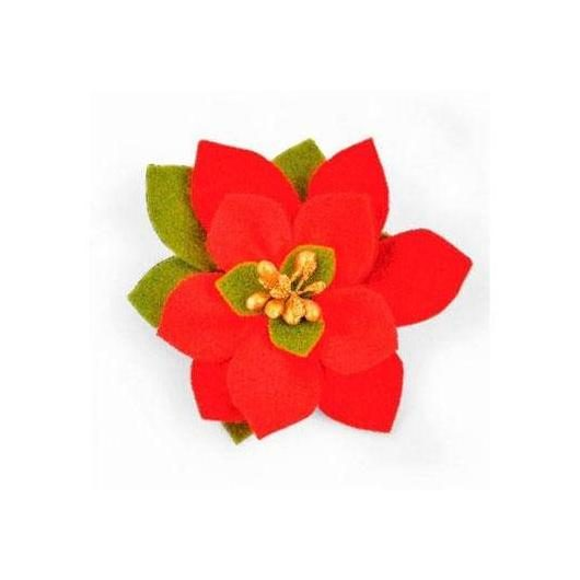Troquel Build a bloom poinsettia Bigz Sizzix