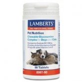 Pet Nutrition Complejo Glucosamina Masticable Lamberts, 90 tabletas
