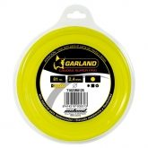 Dispensador de hilo redondo de nylon 81m 2,4 mm Garland
