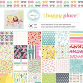 Set de papel de scrapbooking 12 x 12  Happy Place Dear Lizzy AC