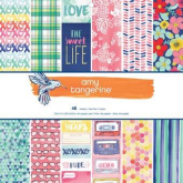 Set de papel de scrapbooking Better together Amy Tangerine AC