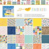 Set de papel de scrapbooking Finders Keepers AMy Tangerine AC