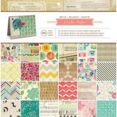 Set de papel de scrapbooking 12 x 12 Best of crate Paper AC