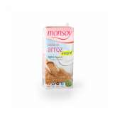 Bebida BIO de arroz integral Monsoy, 1 L