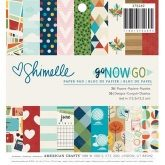 Set de papel de scrapbooking 15 x 15 Go now go Shimelle AC
