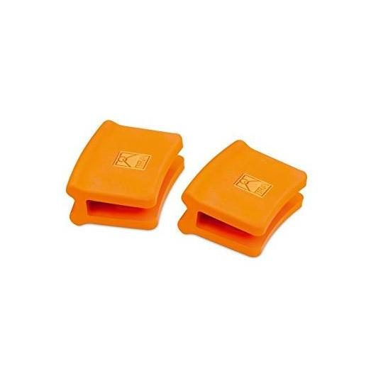 Asas silicona mediana, Bra Efficient Orange