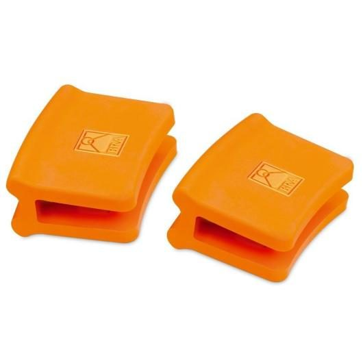 Asas silicona grandes 2 unidades, Bra Efficient Orange