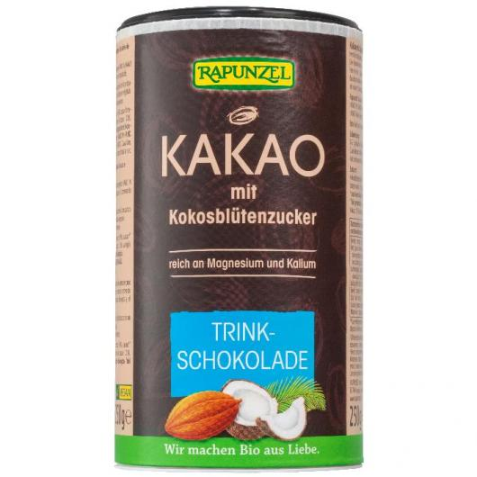 Cacao soluble coco Rapunzel, 250 g