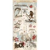 Papel decoupage rock and roll Dayka