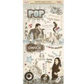 Papel decoupage pop and dance Dayka