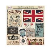 Papel decoupage London style Dayka