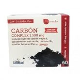 Carbón complex Nature Essential 1500 mg, 60 cápsulas