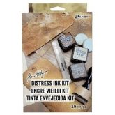 Set de tinta envejecida Distress Tim Holtz
