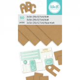 Papel kraft 36 unidades 660896 We R Memory Keepers