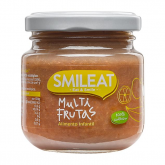 Petit Pot Multifruits biologique Smileat, 130 gr