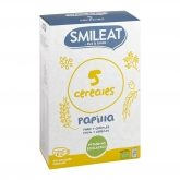 Papillas 5 cereales BIO, Smileat