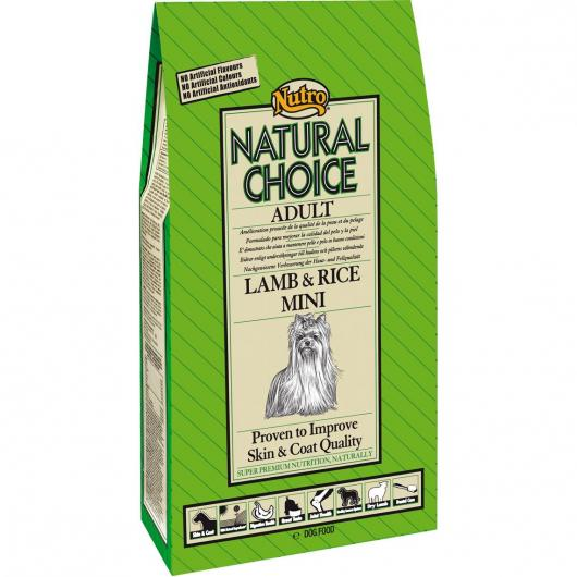 Nutro Natural Choice Adulto Cordero y Arroz Mini