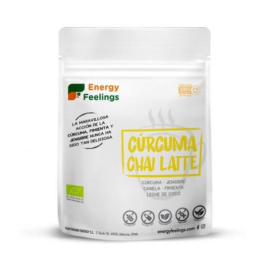 Cúrcuma Chai Latte Energy Feelings