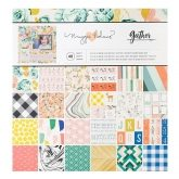 Set de papel de scrapbooking 30x30cm Gather Maggie Holmes