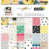 Set de papel de scrapbooking Bloom 30x30cm Maggie Holmes