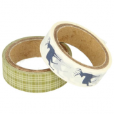Washi tape Noel 15mm x 5m 11004642