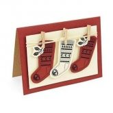 Set 2 troqueles FRAMELITS con sello Fairisle stocking