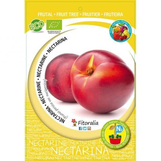 Nectarina red jim ecológico