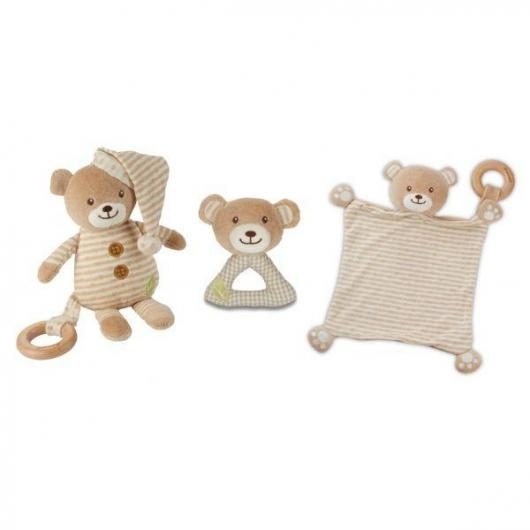 Juguete ECO Infantil Osito (3 peluches), Everearth
