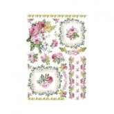 Papel arroz le petit bouquet 50 x 35 cm