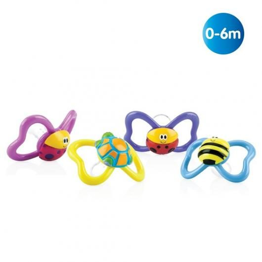 Chupete oval 3D Paci-Pals™ 0-6 mese Nûby™ 1 unidad