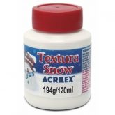 Textura Snow Acrilex 120 Ml Nevasca