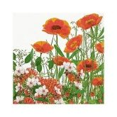 Servilleta Red meadow 33 x 33 cm 1 unidad