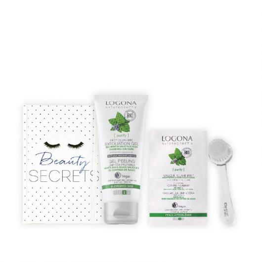 Set facial purificante, Logona