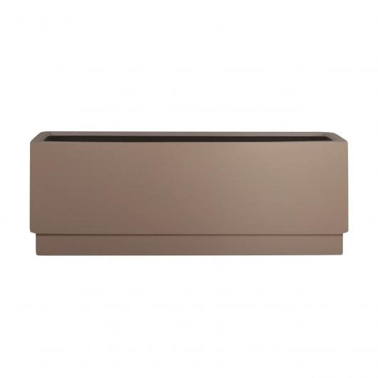 Jardinera Basic rectangular taupe