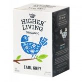 Chá  Early Grey Higher Living Organic 20 saquetas